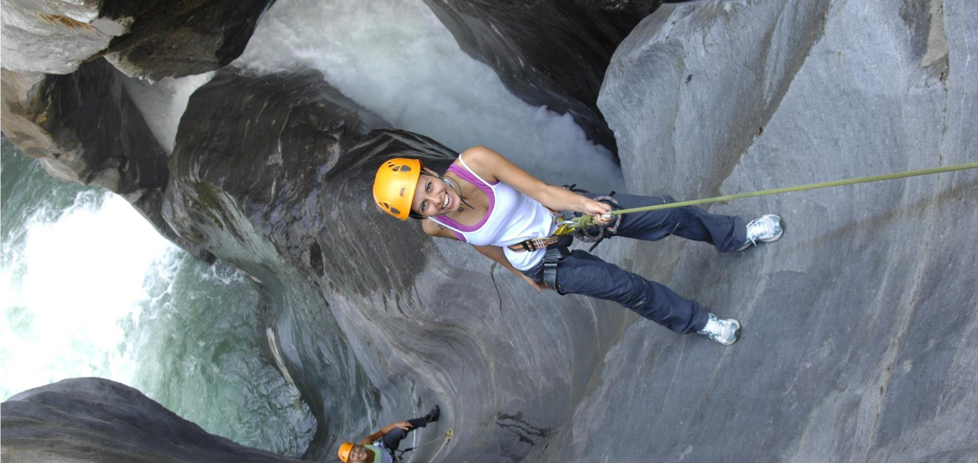 Canyoning & Tarzaning in the Passeiertal Valley