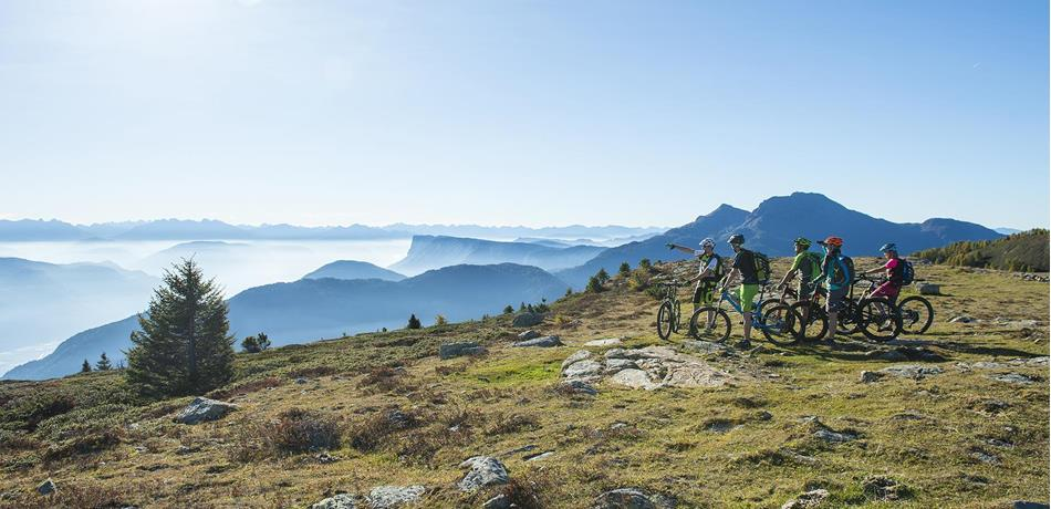 Mountainbike fahren in Naturns