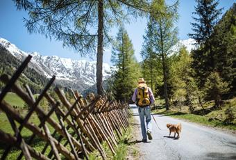 Action-packed holidays in Passeiertal Valley