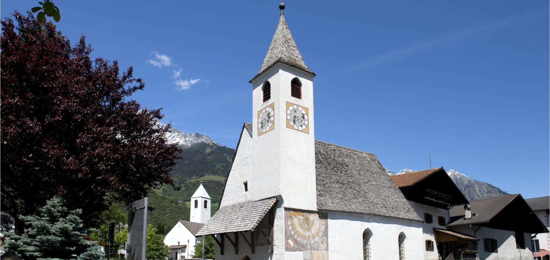 Churches in Parcines, Rablà and Tel