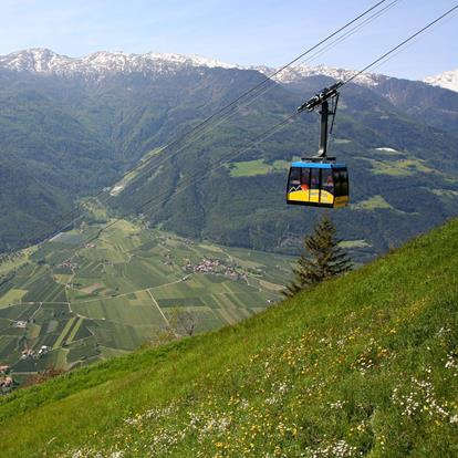Cable Cars in and close by Naturno