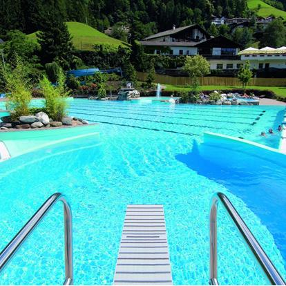 Swimming in the Val Passiria Valley