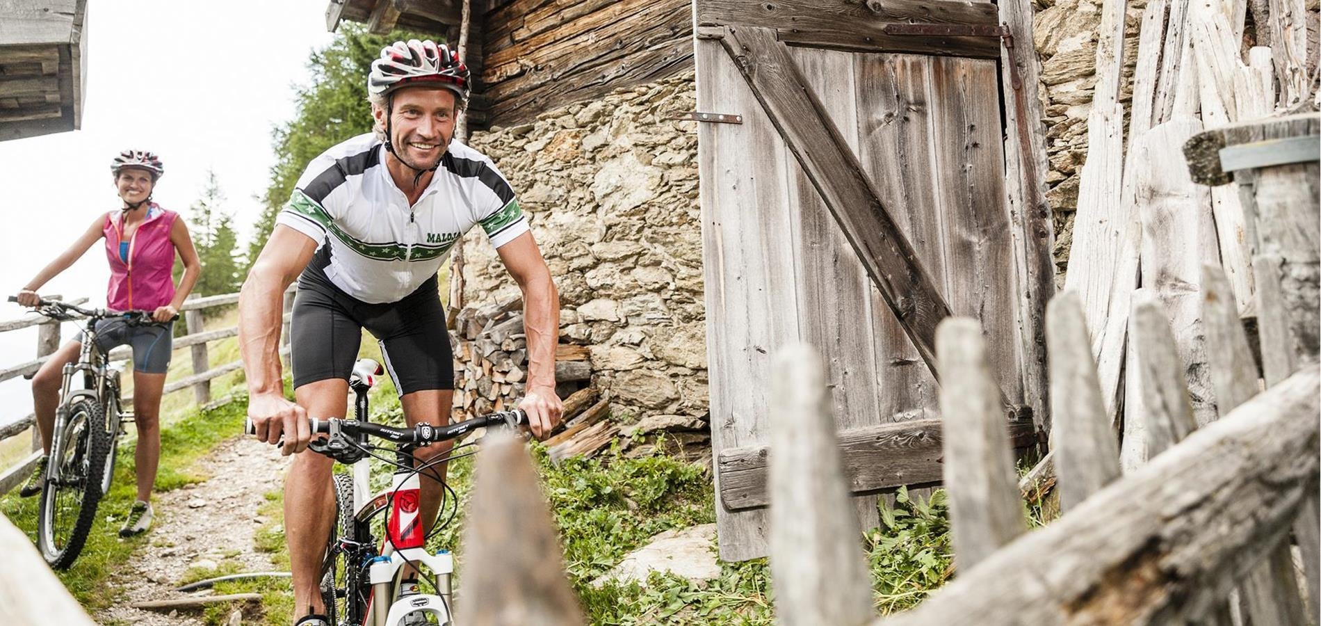 Mountainbike in Scena