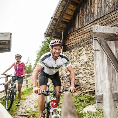 Mountain bike a Scena