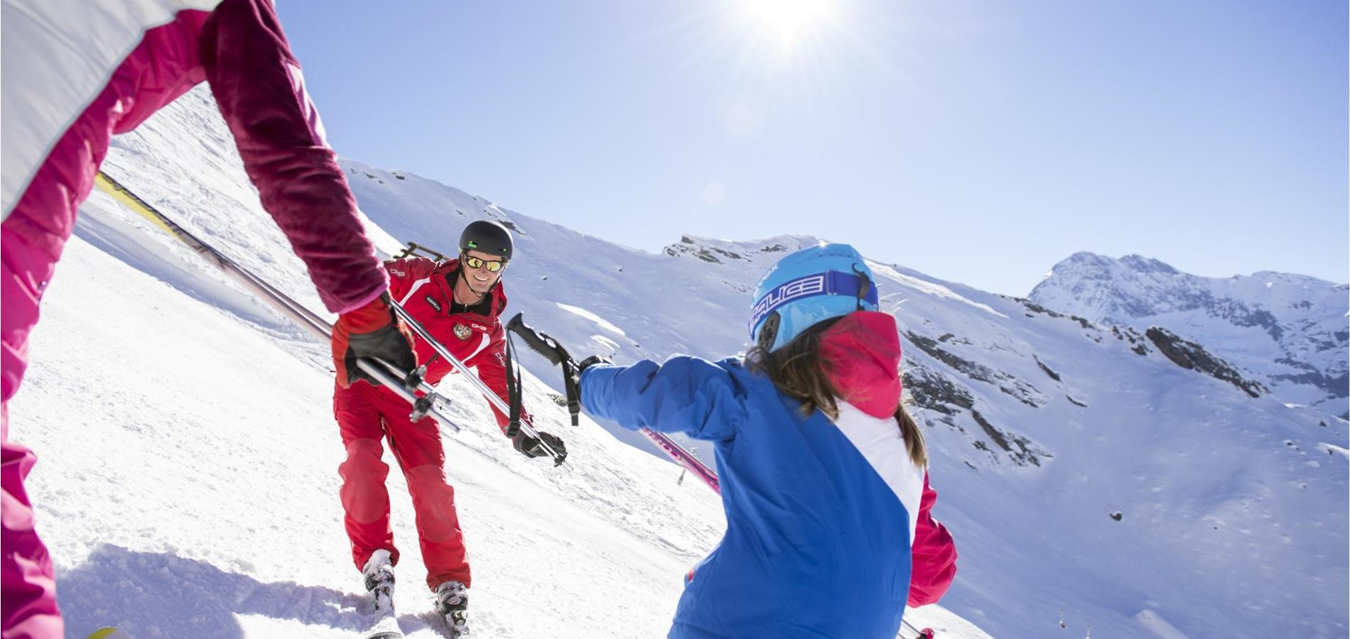 Ski Schools in the Passeiertal Valley