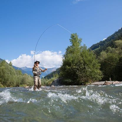 Fishing in the Passeiertal Valley