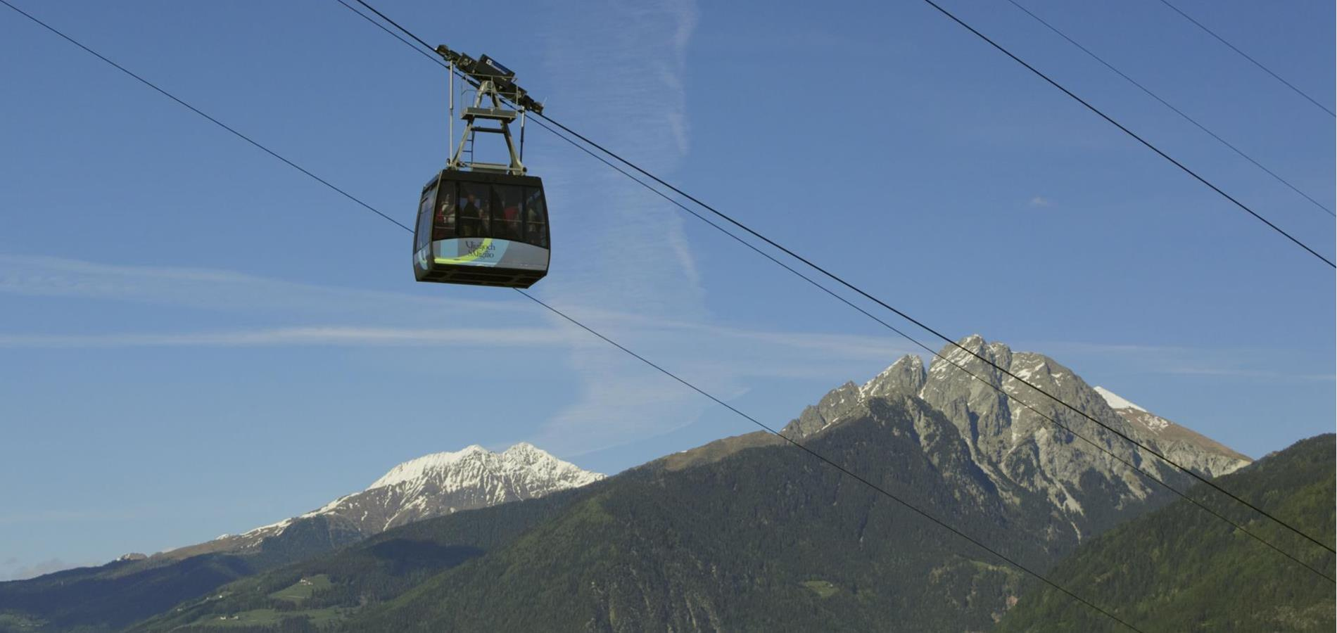 Cable Cars and Chairlifts in Lana and Environs