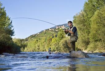 Fishing in South Tyrol