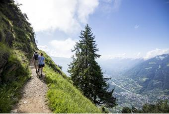 The Merano High Mountain Trail in South Tyrol