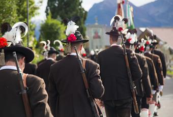 26th Alpenregionstreffen in the Passeier Valley