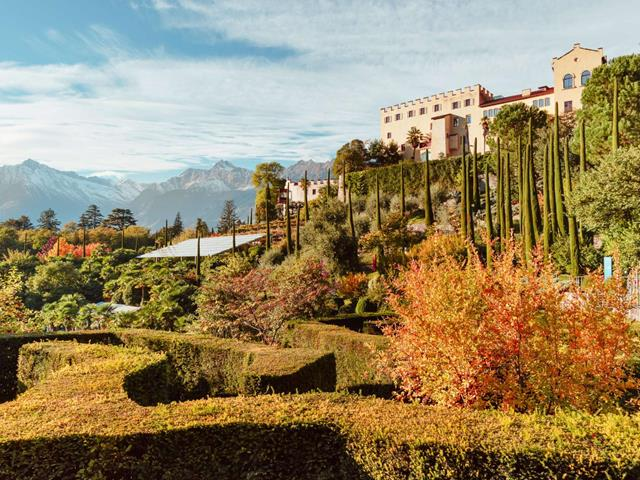 The Gardens of Trauttmansdorff Castle in Merano