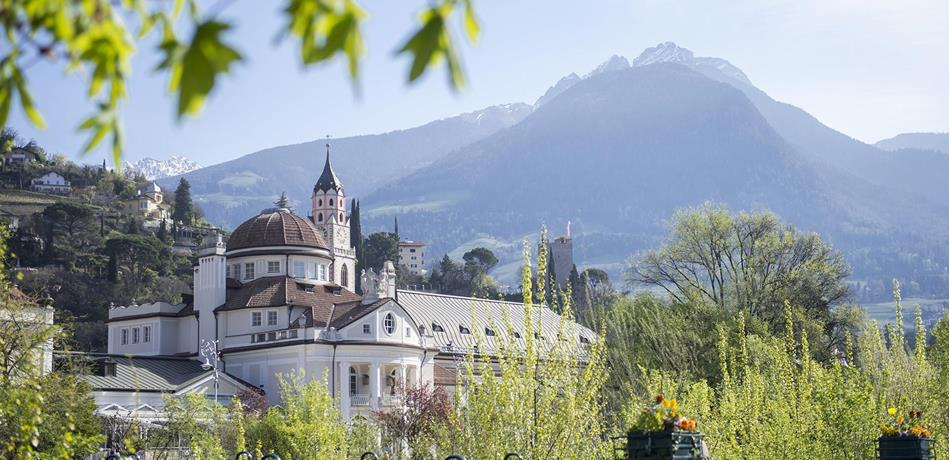 The Spa Town of Meran in South Tyrol
