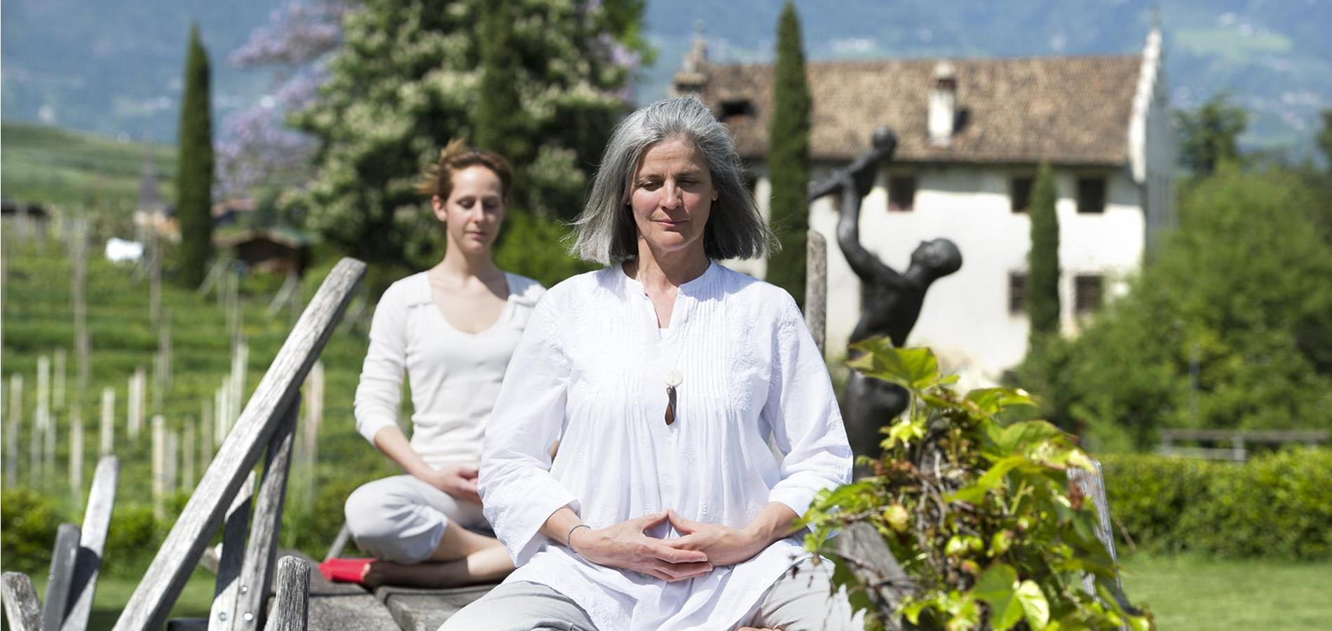 Meditation and Contemplation in Lana and Surroundings