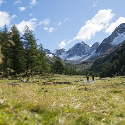Hiking in the Schnalstal Valley