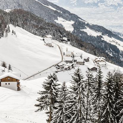 Winter in Scena and the Merano 2000 Skiing area