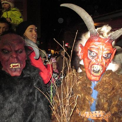 The Traditional Procession of St. Nicholas and the Tuifltog, the Day of the Devil