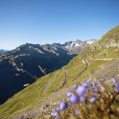 Timmelsjoch Mountain Pass Road