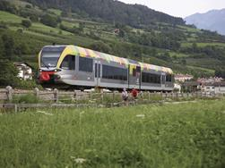 Reach South Tyrol by train