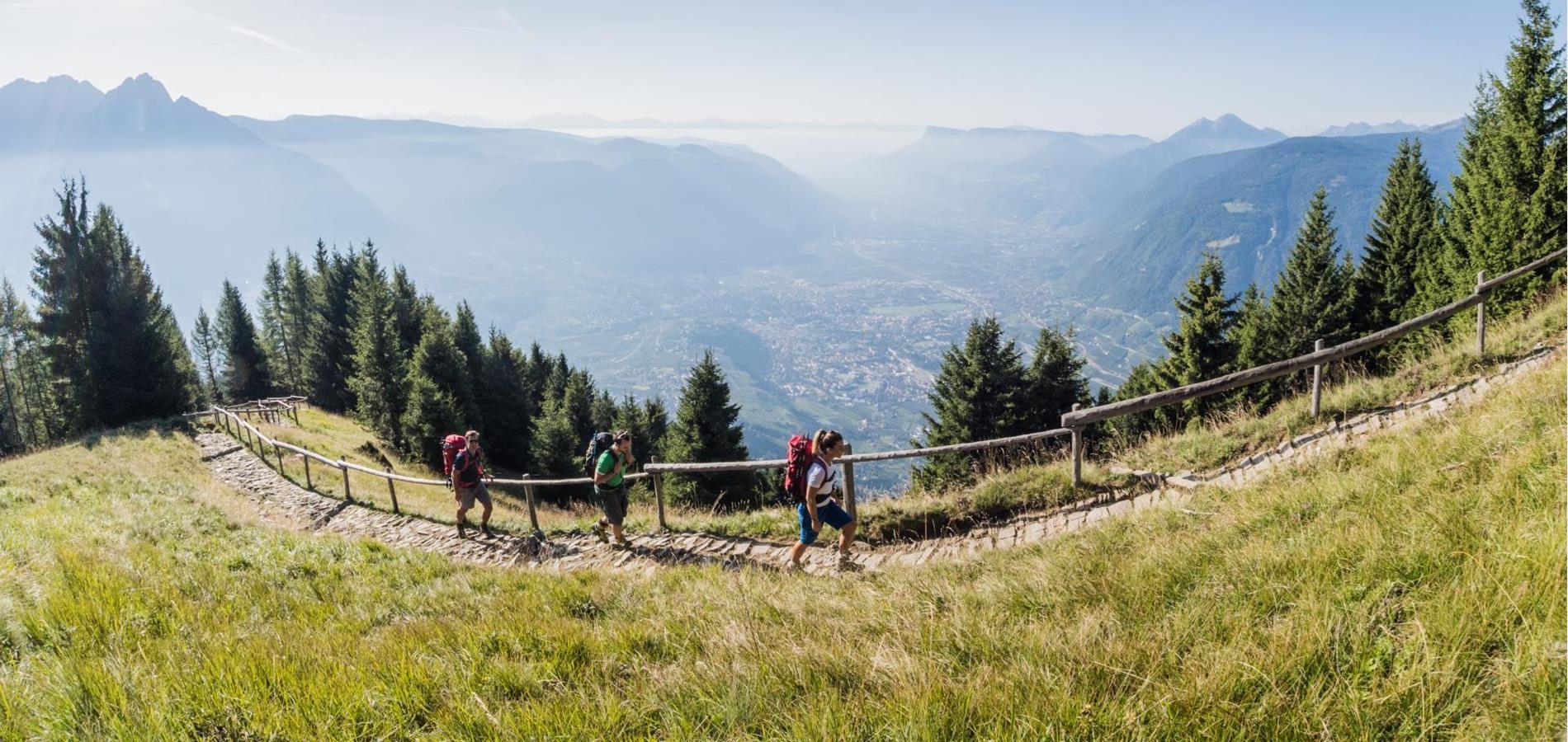 Alta Via di Merano a Tirolo: Giro attorno al Gruppo di Tessa