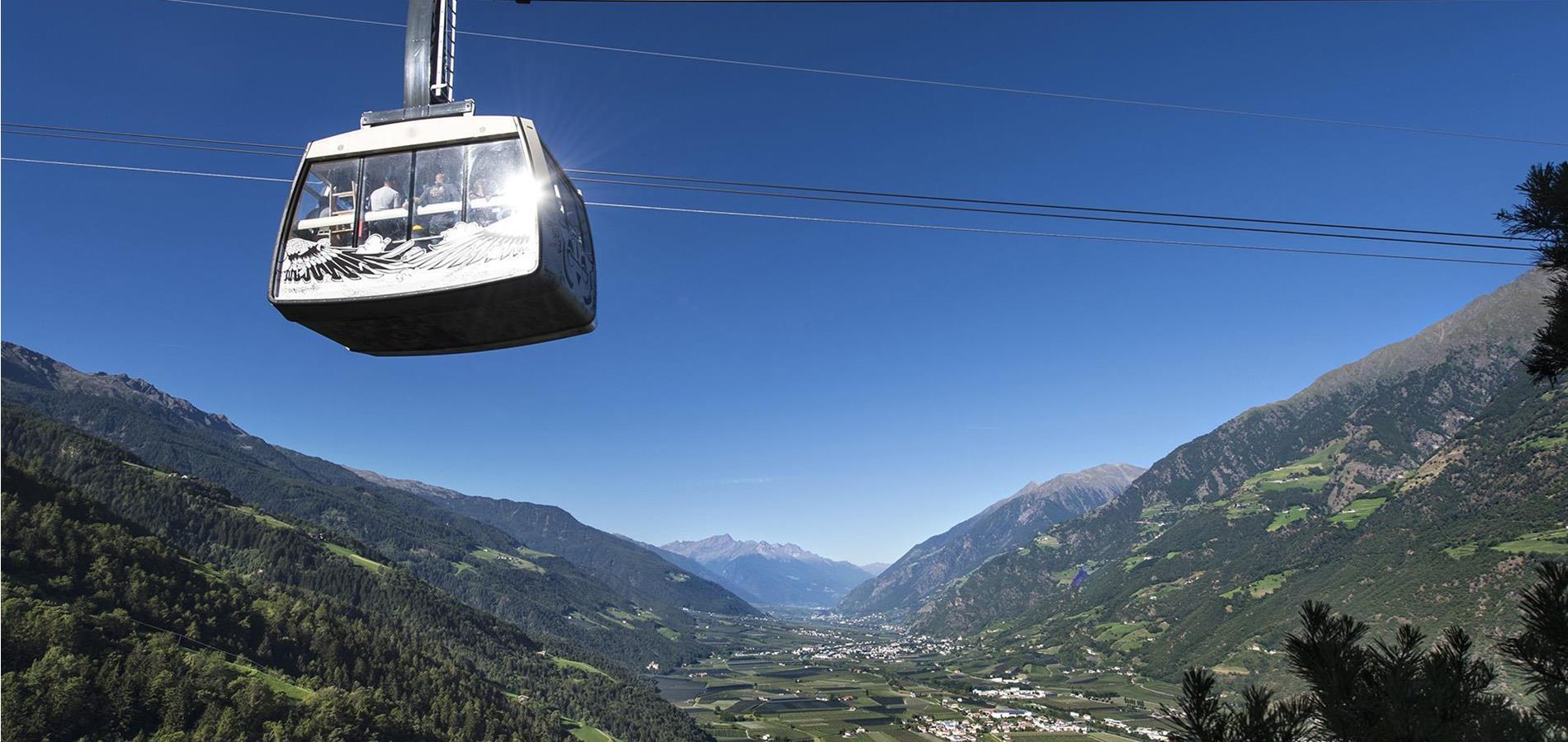 The Cable Cars in Parcines
