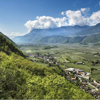 The Village of Postal near Lana near Merano in South Tyrol