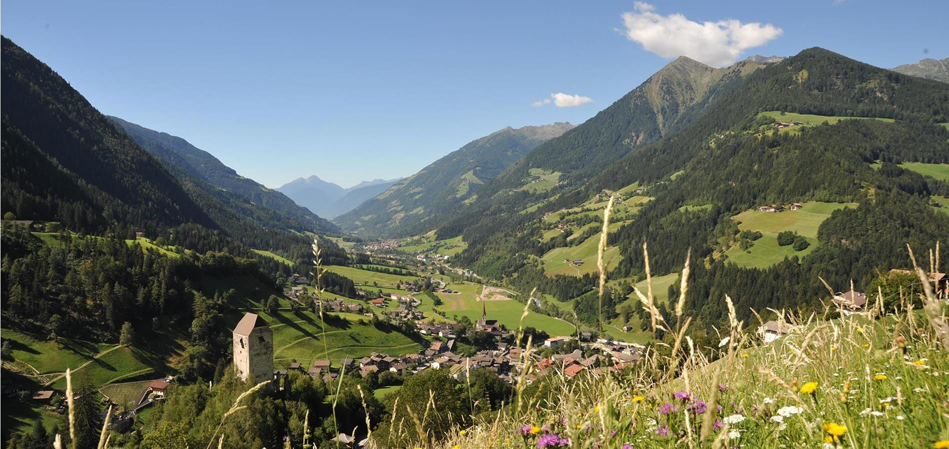 The Passeiertal Valley