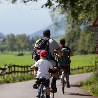 Cycle paths in Passeiertal Valley
