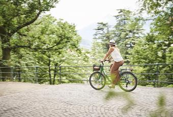 Biking in Merano