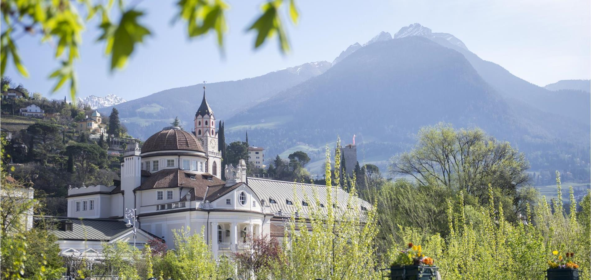 The Spa Town of Merano in South Tyrol