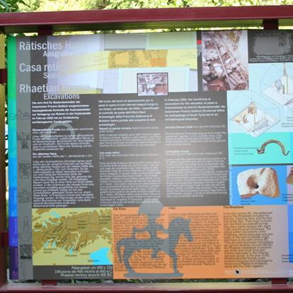 Themed trails in Parcines