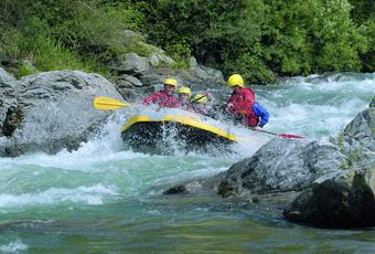 Kayaking & Rafting in the Passeiertal Valley
