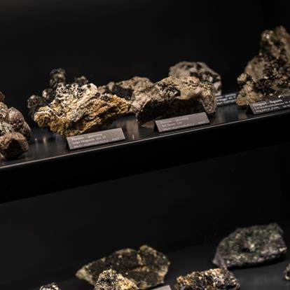 The Mineral Collection in the Gampen Gallery