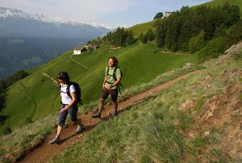Merano High Mountain Trail at Naturno