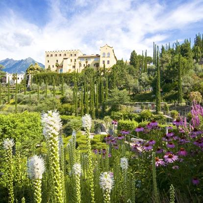 The Gardens of Trauttmansdorff Castle in South Tyrol