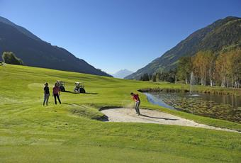 Golf in Schnalstal Valley