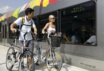 Bike-Shuttle Transport Service from Merano to Val Venosta
