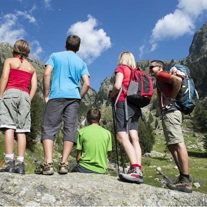 Active Mountain Holidays in Parcines near Merano