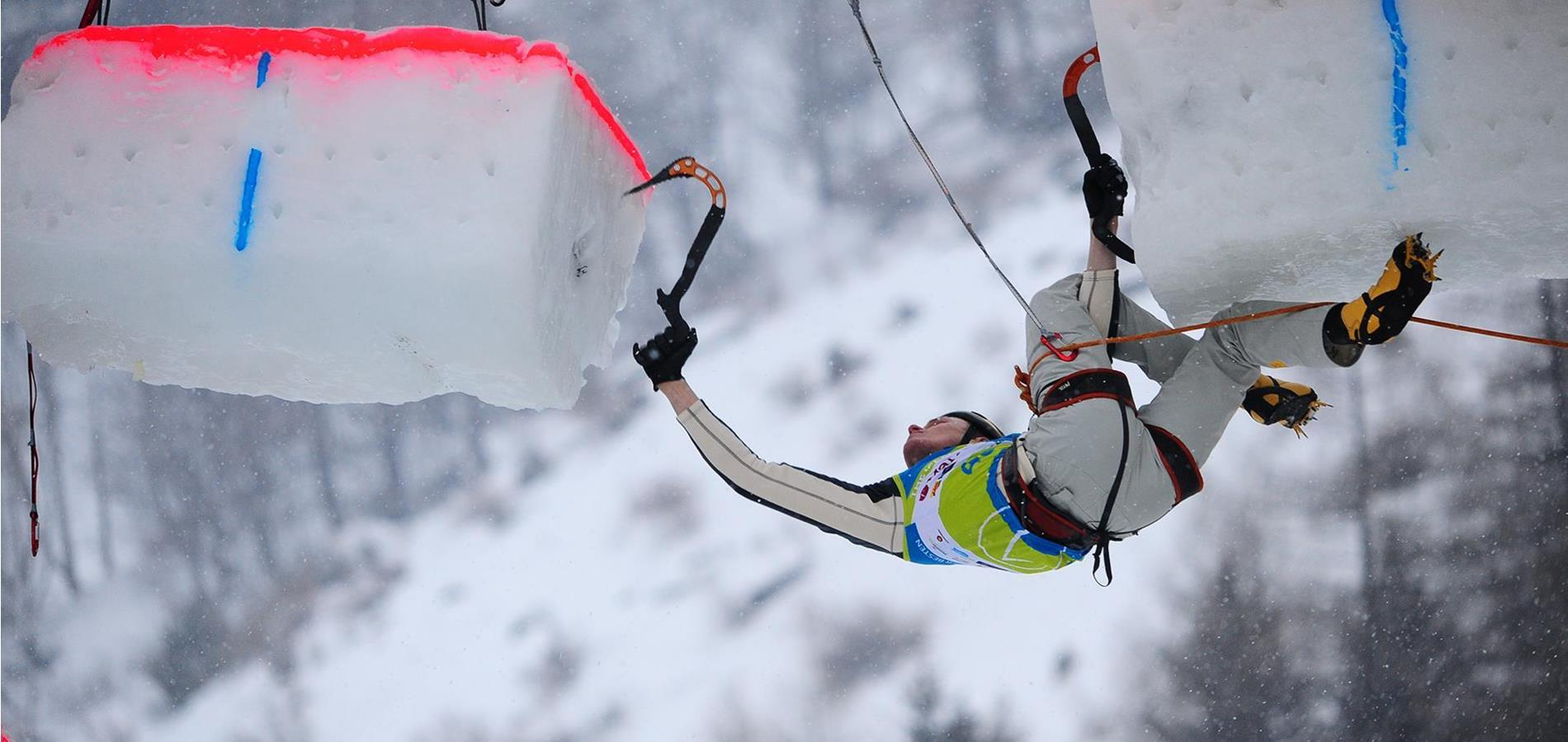 Ice Climbing in the Passeiertal Valley