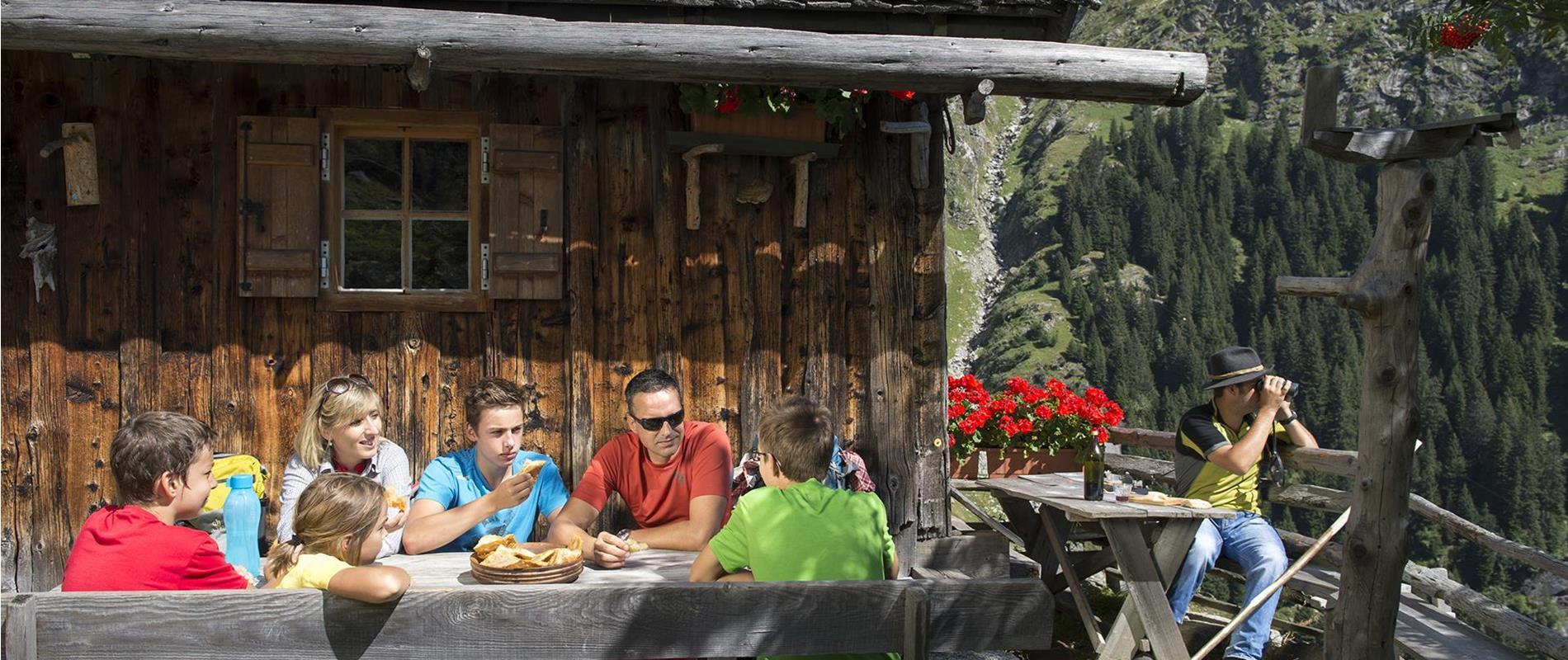 Mountain Huts in Parcines