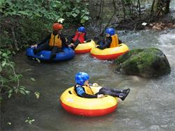 Wild river tubing (Kindersommer)