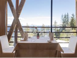Parlour Ida and restaurant 1500 at the vigilius mountain resort