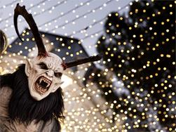 Merano Christmas Market: The fearsome Krampus tradition