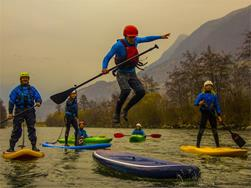 SUP - Stand up paddling sull'Adige