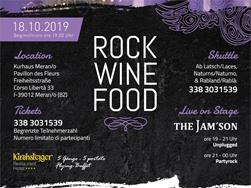Rock Wine Food @ The Merano Grape Festival - Tradition in the course of time