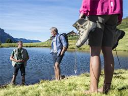 Guided hiking tour - Schnalstal - Berglalm - Vernagter Stausee