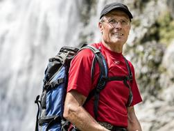 Mountain guide Michael Tschöll