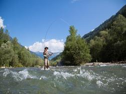 Fishing in the Passeier Valley