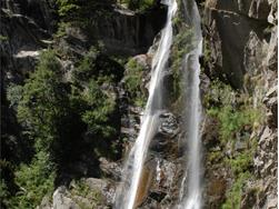 Passeier Waterfall in St. Martin/S. Martino