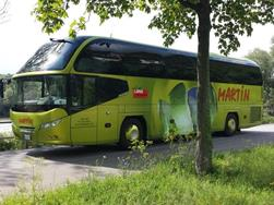 Travel agency & bus company Martin Reisen