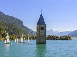 Tower in the lake Reschensee